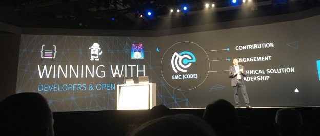 CJ Desai, President of EMC Emerging Technologies Division talking about EMC {code}, our projects and values