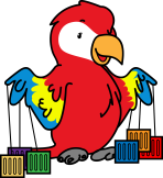 Polly the Parrot_Containers